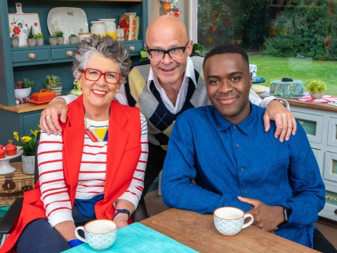 Harry Hill admits hardest part of Junior Bake Off was sending kids home: 'The tears from a child aren't the same as an adult'