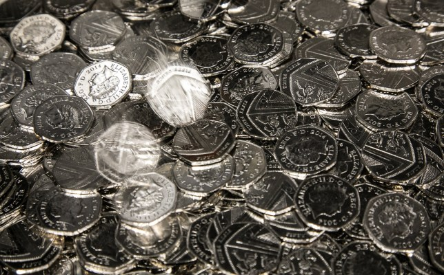 Brexit 50p coins to be shredded and melted down after latest delay