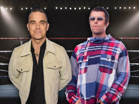 Robbie Williams challenges Liam Gallagher to fight, claims they can 'trounce' KSI and Logan Paul