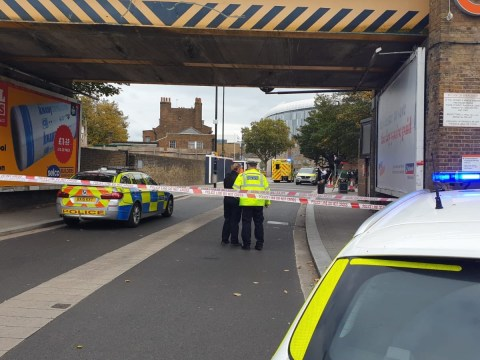 Police officer hospitalised after 'speeding suspect' mowed him down