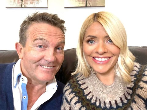 Holly Willoughby is filming a new Christmas special with Bradley Walsh – and it's making us feel festive already