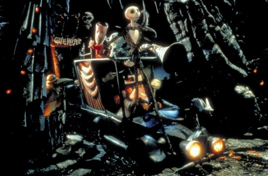 Editorial use only. No book cover usage. Mandatory Credit: Photo by Touchstone/Kobal/REX (5886085ba) The Nightmare Before Christmas (1993) The Nightmare Before Christmas - 1993 Director: Henry Selick Touchstone USA Animation Animation L'?trange No?l de Monsieur Jack
