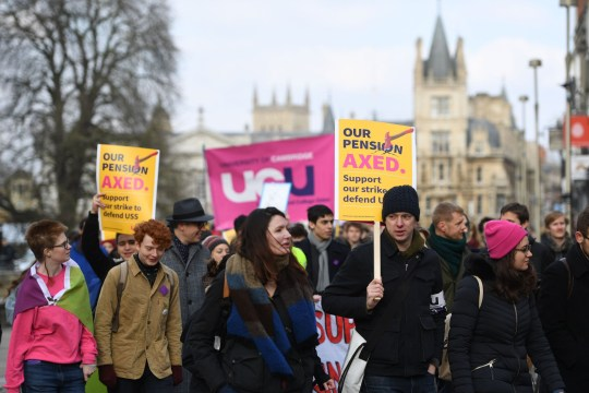 The University and College Union is calling on universities to show they are serious about tackling problems over pay and working conditions (Picture: PA)
