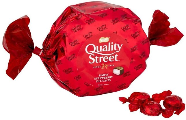 Nowhere near John Lewis? Get tins of your fave Quality Street at B&M for £4.99