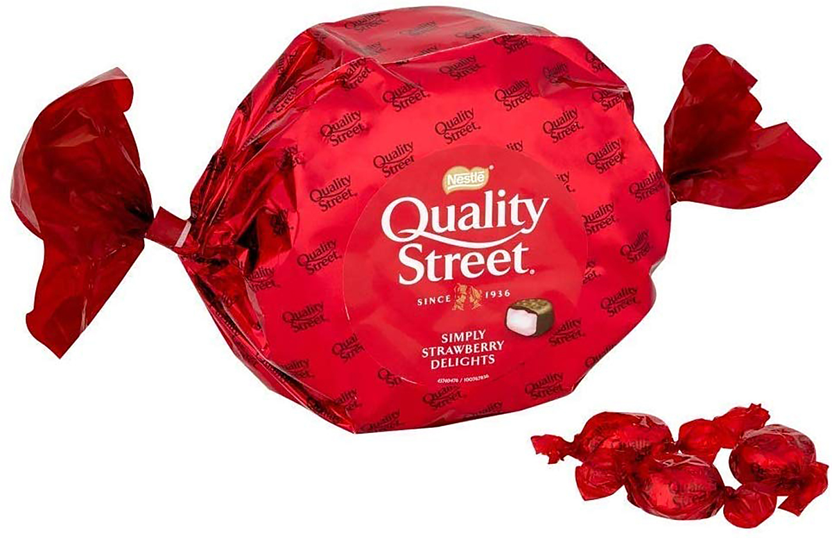 Quality Street Simply Strawberry Delights