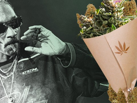 Snoop Dogg gets 'weed bouquet' as he celebrates 48th birthday in style