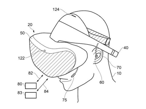 PlayStation VR 2 wireless headset revealed in new Sony patent