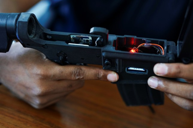 The USA is developing 'smart guns' for the future of warfare