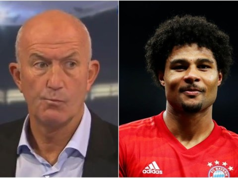 Tony Pulis reveals why Serge Gnabry flopped at West Brom after his four-goal display in Bayern Munich's win over Tottenham