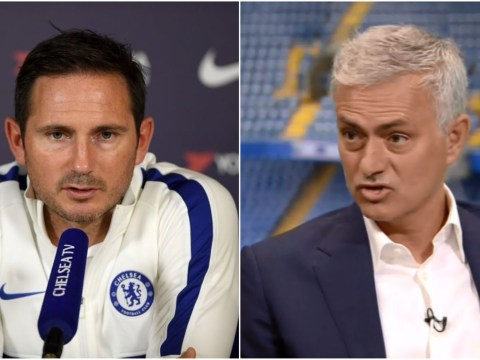 Frank Lampard reveals texts with Jose Mourinho after he 'had a little go' at Chelsea following Man Utd loss