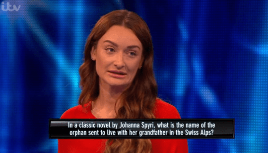 Tipping Point contestant Steph