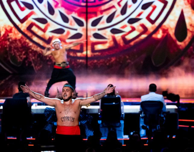 Stavros Flatley on the final of Britain's Got Talent: The Champions