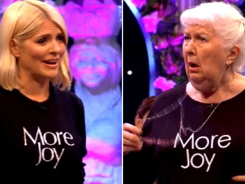 Holly Willoughby slates old woman to channel her 'inner diva' in brutal Celebrity Juice game