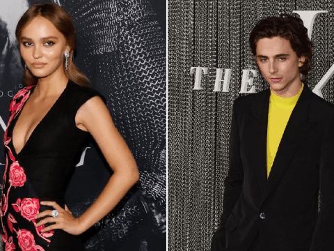 Lily Rose Depp and boyfriend Timothee Chalamet walk red carpet solo at The King premiere