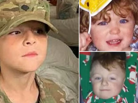 Pictured: Boy, 9, who 'murdered three toddlers and two adults in mobile home fire'