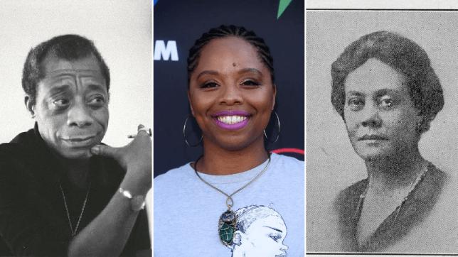 James Baldwin, Patrisse Cullors and Alice Dunbar Nelson