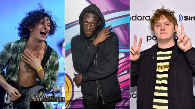 Lewis Capaldi, Stormzy and The 1975