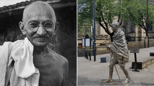 Students want Gandhi statue scrapped in Manchester 'because he's racist'
