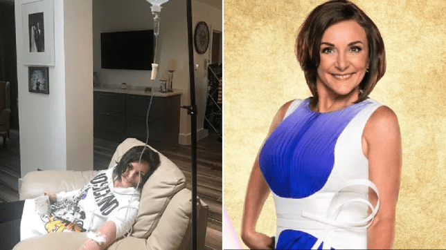 Strictly Shirley Ballas hooked up to drip as she falls ill