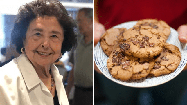 Granny faces evicted from apartment after she took too many cookies from event