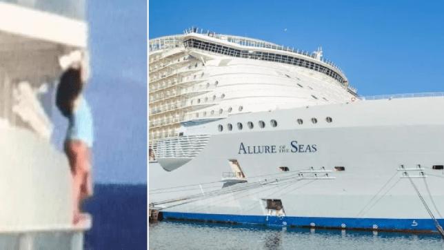 Royal Caribbean cruises, banned