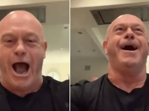 Ross Kemp is happiest man ever as England beat New Zealand in Rugby World Cup semi-final