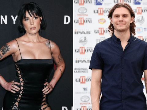 Halsey finally confirms Evan Peters is her boyfriend following Yungblud split