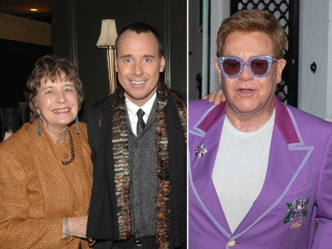 Elton John's mother-in-law dies as son David Furnish pays tribute to 'beautiful, angelic mother'