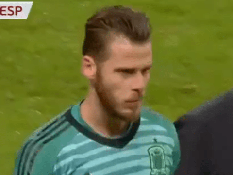 David de Gea limps out of Spain match with injury ahead of Manchester United's clash with Liverpool
