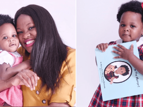 Mum writes diverse children's books so her daughter can read about little girls who look like her