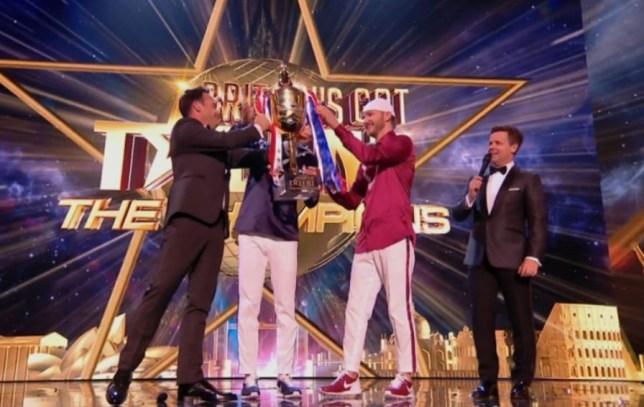Britain's Got Talent winner Twist And Pulse