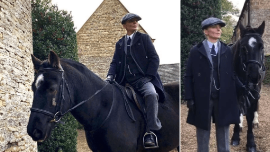 Geri Halliwell is unrecognisable as Peaky Blinders character