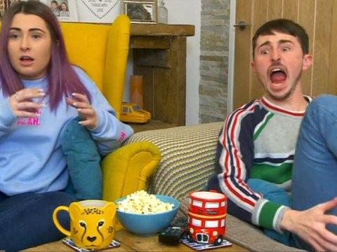 Gogglebox viewers can't get over Pete's hysterical screaming reaction to A Quiet Place