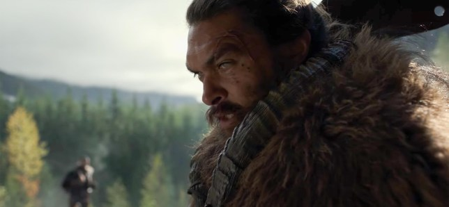 Jason Momoa in apple tv plus show see