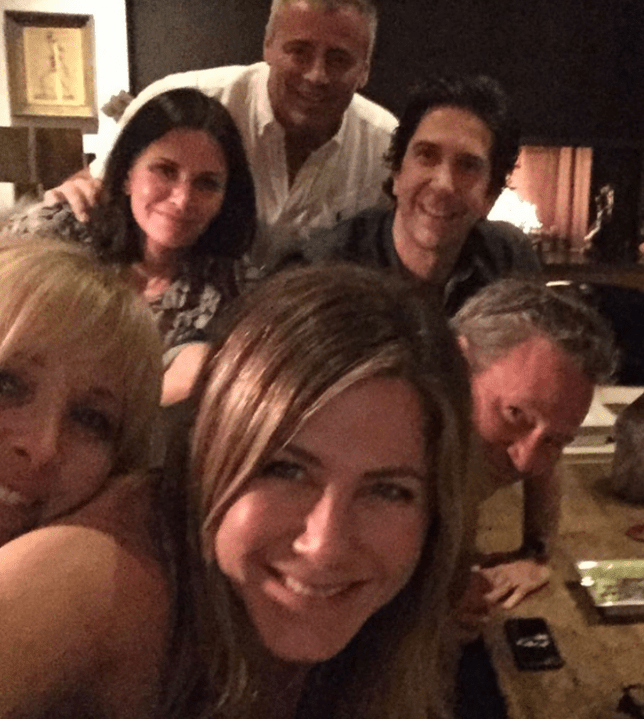 Jennifer Aniston finally joins Instagram and reveals full Friends cast reunion dinner