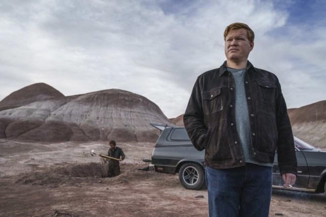 Jesse Plemons as Todd in El Camino