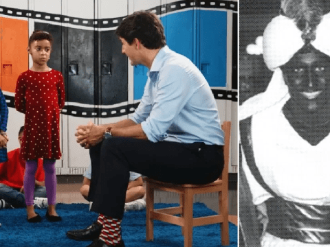 Justin Trudeau asked by children why he painted his face brown