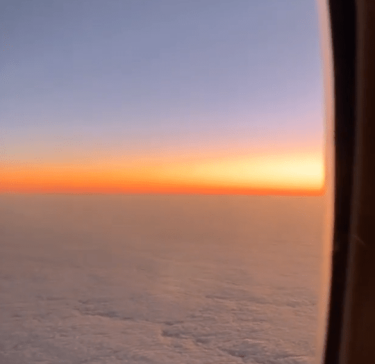 Kunal's video of the sunrise