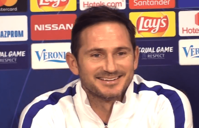 Frank Lampard's Chelsea face Ajax in the Champions League on Wednesday evening