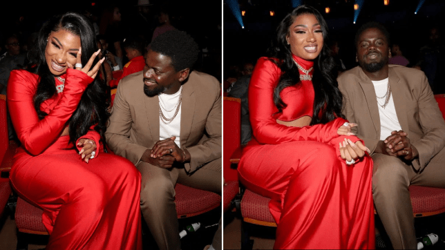 Megan Thee Stallion and Daniel Kaluuya