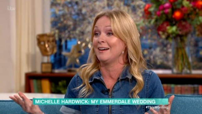 Michelle Hardwick reveals how random man invited himself to her wedding to Emmerdale boss