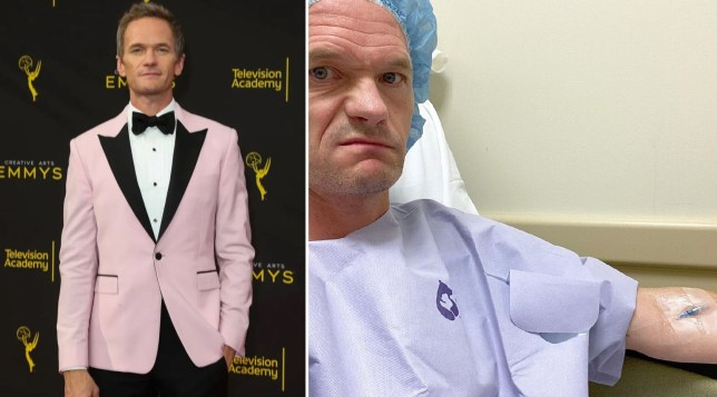 Neil Patrick Harris undergoes surgery after 'hand planting onto a sea urchin'