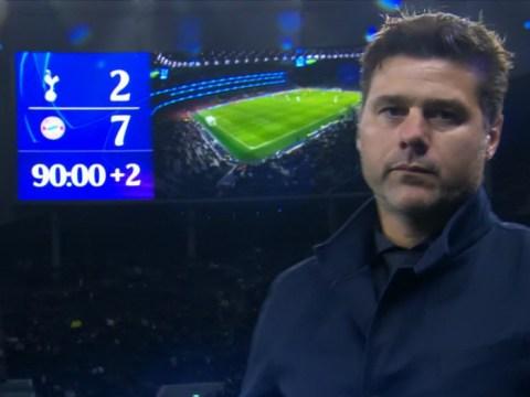Mauricio Pochettino reveals he said 'nothing' to Tottenham squad after Bayern Munich mauling