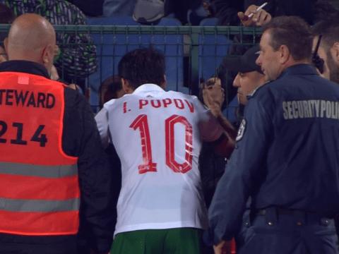 Marcus Rashford praises Bulgaria captain Ivelin Popov over his 'courageous' act at half-time