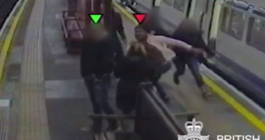 A trainee accountant who drunkenly pushed a man on to the tracks at a London Tube station has had his jail term increased. Mathuram Muthuraja, 23, forcibly shoved Harsha Jayasekera off the platform at Barons Court underground in Kensington, shortly before a train was due to pull in to the station. Mr Jayasekera, 38, fell on to the tracks, but was pulled to safety by members of the public and avoided serious injury. Muthuraja, of Northolt, Ealing, west London, was jailed for three years at the Old Bailey in July after being convicted of attempting to cause grievous bodily harm. His sentence was increased to five years at the Court of Appeal on Wednesday, after leading judges ruled the original term was 'unduly lenient'.