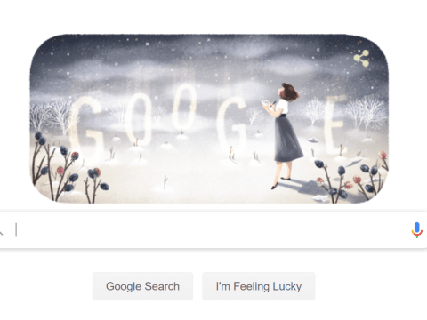 Who was Sylvia Plath, subject of today's Google Doodle?