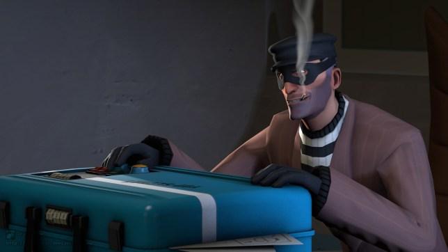 Team Fortress 2 baguette burglar