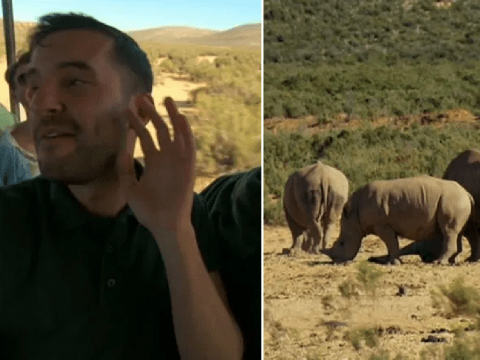 The Apprentice's Riyonn Farsad mistakes rhinos for elephants and the cringe is overwhelming