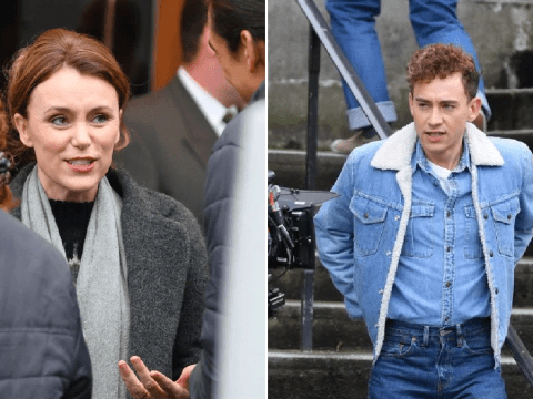 Olly Alexander and Keeley Hawes kick off filming on Russell T Davies drama Boys in Manchester