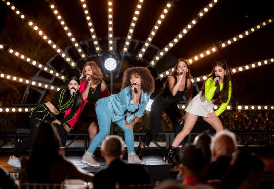 V5 on X Factor: Celebrity